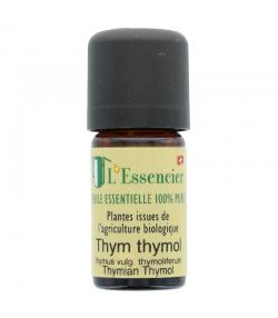 Huile essentielle BIO Thym thymol - 5ml - L'Essencier