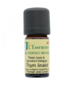 Huile essentielle BIO Thym linalol - 5ml - L'Essencier