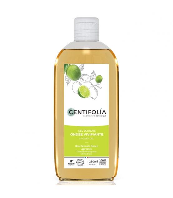 Gel douche ondée vivifiante BIO agrumes - 250ml - Centifolia