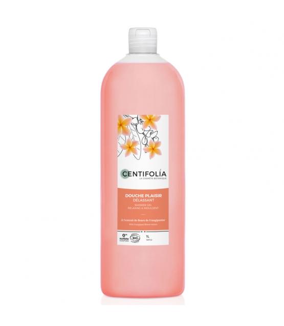 Entspannendes BIO-Duschgel Frangipaniblüten - 1l - Centifolia