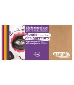 Kit de maquillage naturel & ludique 8 couleurs Monde des horreurs - Namaki