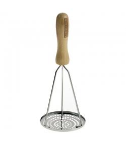 Kartoffelstampfer aus Edelstahl & Buche - 1 Stück - ah table !