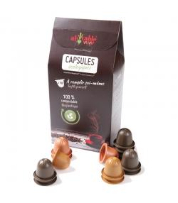 Capsules café écologiques à remplir soi-même - 100 pièces - ah table !