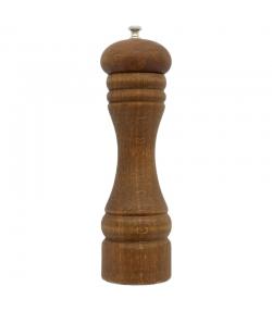 Moulin à poivre grand en bois & acier - 1 pièce - ah table !