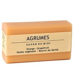 Savon au beurre de karité & agrumes - 100g - Savon du Midi