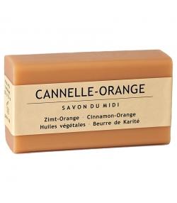 Savon au beurre de karité, cannelle & orange - 100g - Savon du Midi