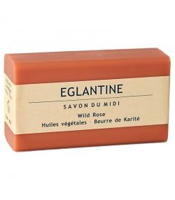 Savon au beurre de karité & églantine - 100g - Savon du Midi