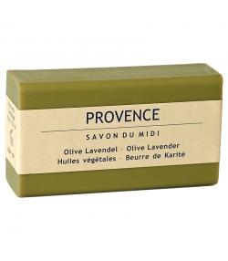 """Savon au beurre de karité, olive & lavande """"Provence"""" - 100g - Savon du Midi"""