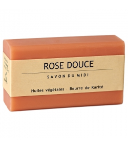 Karité-Seife & Rose Douce - 100g - Savon du Midi