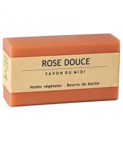 Savon au beurre de karité & rose douce - 100g - Savon du Midi