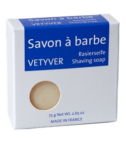 Savon à barbe vetyver - 75g - Savon du Midi