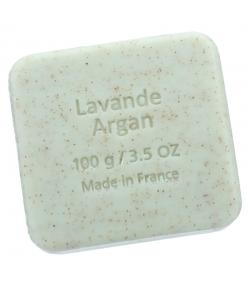 Savon exfoliant argan & lavande - 100g - Savon du Midi