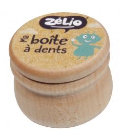 Milchzahndose aus Holz - 1 Stück - Zébio
