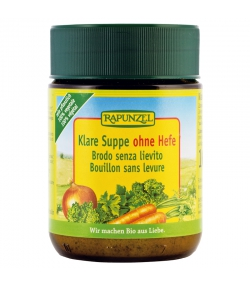 BIO-Klare Suppe ohne Hefe - 160g - Rapunzel