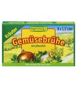 BIO-Gemüse-Brühwürfel mit Kräutern & Bio-Hefe - 8 Würfel - Rapunzel