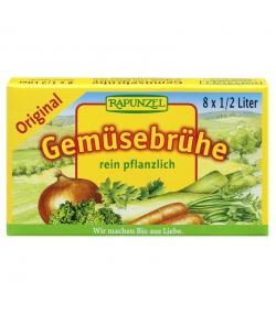 BIO-Gemüse-Brühwürfel Original mit Bio-Hefe - 8 Würfel - Rapunzel