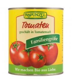 Tomates entières pelées en conserve BIO - 800g - Rapunzel