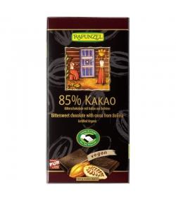 BIO-Bitterschokolade mit 85% Kakao - 80g - Rapunzel