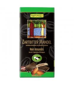 BIO-Zartbitterschokolade mit Mandelstückchen - 80g - Rapunzel