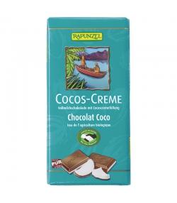 Chocolat au lait & à la crème de coco BIO - 100g - Rapunzel