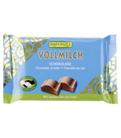 Chocolat au lait BIO - 100g - Rapunzel