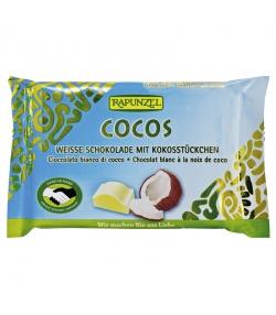 Chocolat blanc à la noix de coco BIO - 100g - Rapunzel
