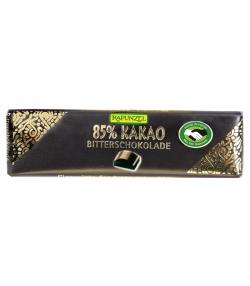 BIO-Bitterschokolade Täfelchen mit 85% Kakao - 20g - Rapunzel