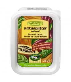 Beurre de cacao nature BIO - 250g - Rapunzel