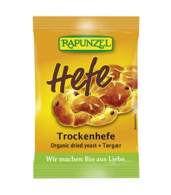 BIO-Trockenhefe - 9g - Rapunzel