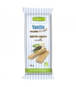 Gaufrettes complètes à la vanille BIO - 100g - Rapunzel