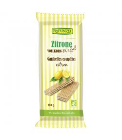 BIO-Vollkornwaffeln Zitrone - 100g - Rapunzel