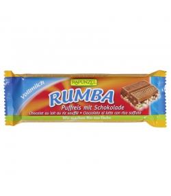 Barre au chocolat & riz soufflé Rumba BIO - 50g - Rapunzel
