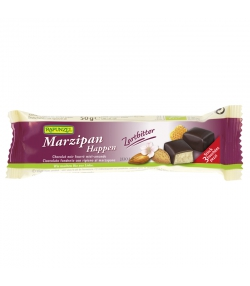 BIO-Marzipan-Happen Zartbitterschokolade - 3 Stück - Rapunzel