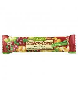 BIO-Fruchtschnitte Cranberry-Cashew - 40g - Rapunzel