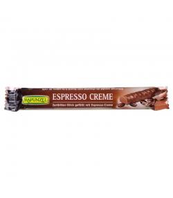 Stick chocolat noir fourré à la crème d'espresso BIO - 22g - Rapunzel