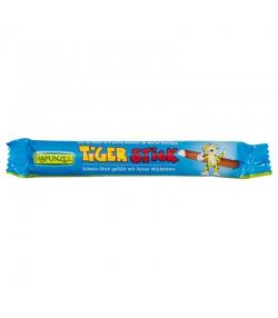 Stick de chocolat au lait fourré à la crème Tiger BIO - 22g - Rapunzel