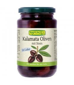 Olives violettes avec noyaux en saumure BIO - 355g - Rapunzel