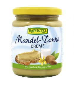 Pâte à tartiner aux amandes Tonka BIO - 250g - Rapunzel