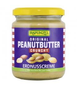 Peanutbutter Crunchy BIO-Erdnusscreme - 250g - Rapunzel