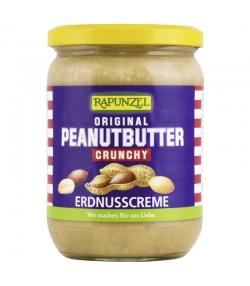 Peanutbutter Crunchy BIO-Erdnusscreme - 500g - Rapunzel