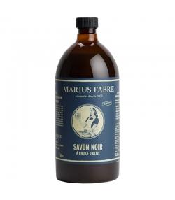 Flüssige Schwarze Seife mit Olivenöl - 1l - Marius Fabre Nature