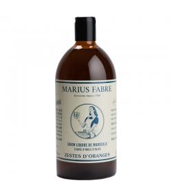 Savon liquide de Marseille aux zestes d'oranges - 1l - Marius Fabre Nature