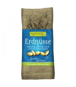 Cacahuètes grillées & salées BIO - 75g - Rapunzel