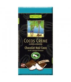 Cocos Creme BIO-Zartbitterschokolade gefüllt - 100g - Rapunzel