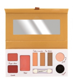 Palette Beauty Essential BIO N°38 Tons chauds - Couleur Caramel