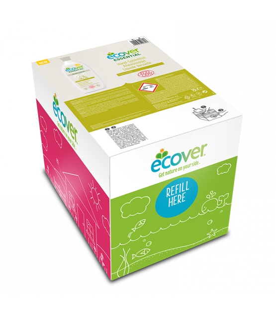 Ökologisches Hand-Spülmittel Kamille - 15l - Ecover essential