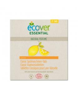 Ökologische Classic Spülmaschinen-Tabs Zitrone - 25 Waschgänge - 500g - Ecover essential