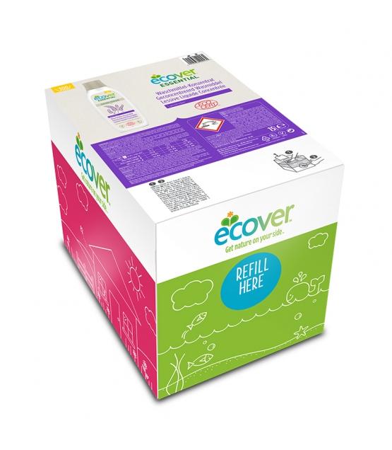 Lessive liquide concentrée lavande écologique - 300 lavages - 15l - Ecover essential