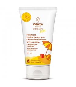 Crème solaire sensitive visage & corps BIO IP 30 edelweiss - 150ml - Weleda