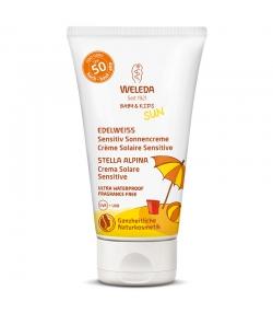 Crème solaire sensitive visage & corps BIO IP 50 edelweiss - 50ml - Weleda